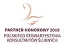 Polskie Stowarzyszenie Konsultantów Ślubnych, PSKŚ, logo PSKŚ, partner honorowy, partner honorowy pskś